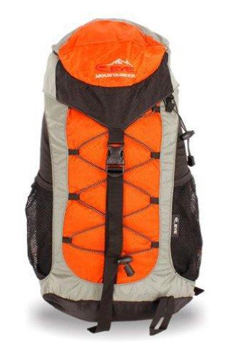 ADS 30l capacità all' aperto zaino/borsa escursioni con idratazione confezioni Fanny Packs, Uomo, Zaino per escursionismo, Red Orange