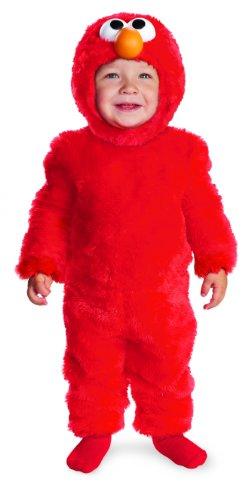 Seasame Street Infant Elmo Light-Up Costume Small ()