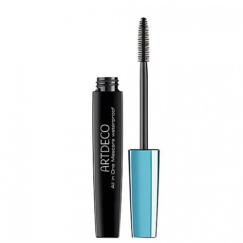 Artdeco All in One Mascara Waterproof Nr. 71 Black, 1er Pack (1 x 1 Stück)