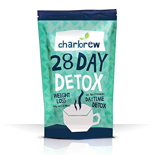Charbrew Day Time Tea Detox 28 Days (No Laxative Effect)