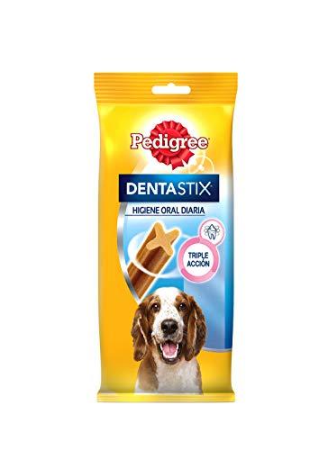Pack de 7 Dentastix de uso diario para higiene oral para perros medianos   | [Pack de 10]