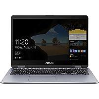Asus VivoBook Flip 15 TP510UQ-E8033T 39,6 cm (15,6 Zoll FHD Touch) Convertible Notebook (Intel Core i5-8250U, 8GB RAM, 128GB SSD, 1TB HDD, NVIDIA GeForce 940MX, Win 10 Home) grau