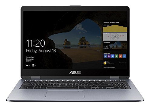 Asus VivoBook Flip 15 TP510UQ-E8033T 39,6 cm (15,6 Zoll FHD Touch) Convertible Notebook (Intel Core i5-8250U, 8GB RAM, 128GB SSD, 1TB HDD, Nvidia GeForce 940MX, Win 10) grau