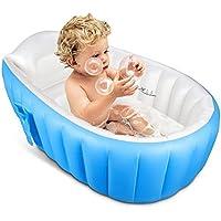 Aufblasbare Baby Badewanne OIF tragbar Kid Infant Kleinkind Dick Weich Kissen Pool Central Sitz