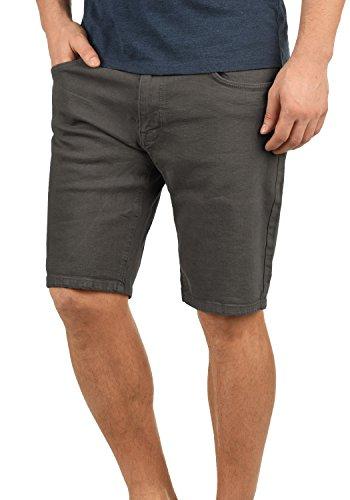 Redefinded Rebel Morton Herren Jeans Shorts Kurze Denim Hose Aus Stretch-Material Regular Fit, Größe:XXL, Farbe:Dark Grey