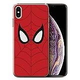 Stuff4 Coque de Coque pour Apple iPhone XS Max/Spider-Man Masque Inspiré...