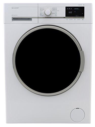 Sharp ES-GFB8147W3-DE Waschmaschine / A+++ / 1400 UpM / 8kg / Weiß / AquaStop / 15 Programme