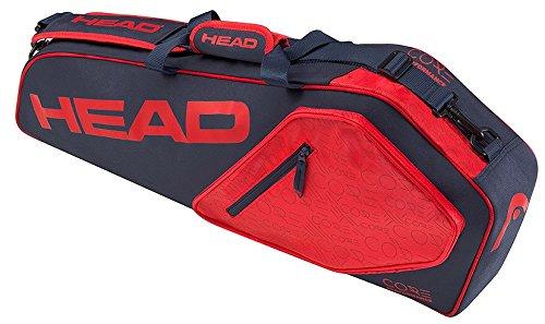 HEAD Core 3r Pro Tennisschläger-Tasche, Unisex, Core 3R Pro, Marineblau/rot -
