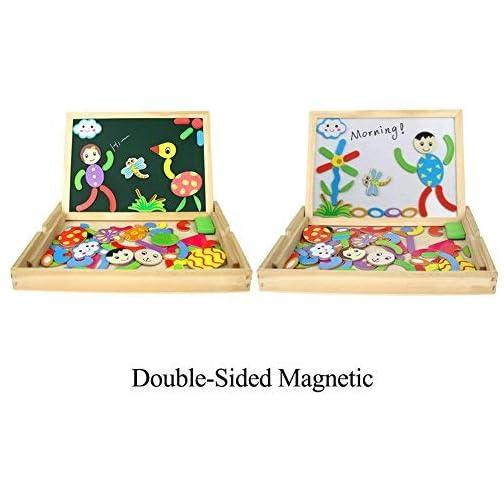 Fajiabao Puzzle Magnetico Legno Lavagnetta Magnetica Giochi