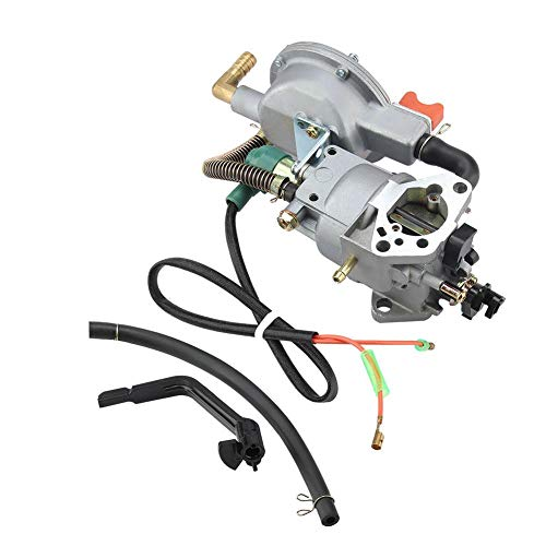 TOPINCN Carburador Combustible Dual Manual Honda GX390