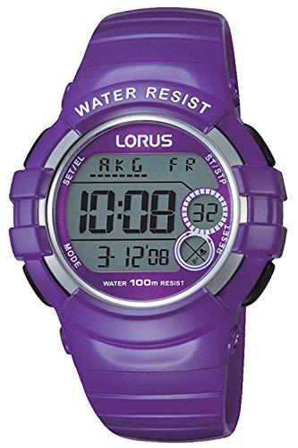 Lorus sport orologio Unisex Digitale al Al quarzo con cinturino in Poliuretano R2323KX9