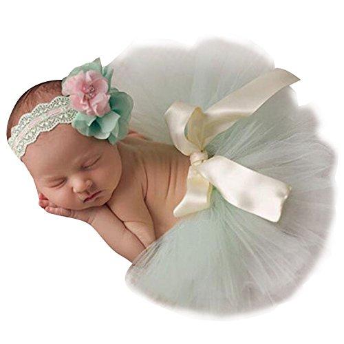 hibote Neugeborenes Baby Rock Tutu Kleidung Trikot Kostüm Foto Prop Outfits Bekleidung Set (Trikot Kostüme Uk)