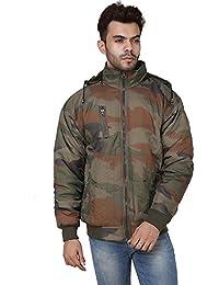 Derbenny High Quality Premium Nylon Camouflage Fur Jacket For Men