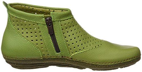 El Curto verde Grão Torcal Macio Mulheres Naturalista Botas Verde Eixo N389 4awgU4