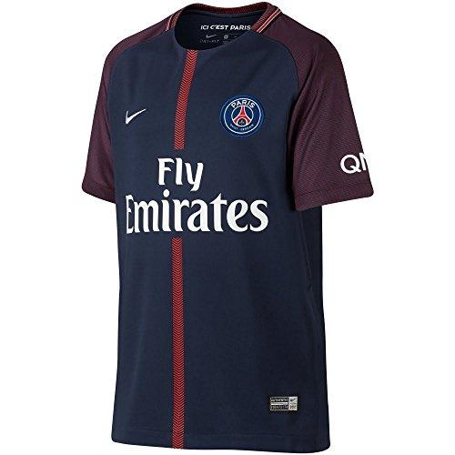 Nike Psg M Nk Vapor Mtch Jsy Ss Hm Camiseta 1ª Equipación Paris Saint  Germain 17 5105d15d9f688