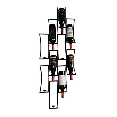 Hguio portabottiglie stand bordeaux chateau style - contiene bottiglie del tuo vino preferito - elegante portabottiglie stile francese alla ricerca di (size : 112 * 33cm)