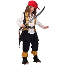 Limit - Disfraz pirata Corsario infantil, talla 3, 5-7 años