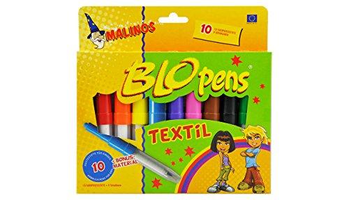 Preisvergleich Produktbild Malinos 300991 - Malionos Blopens Textil 10-er