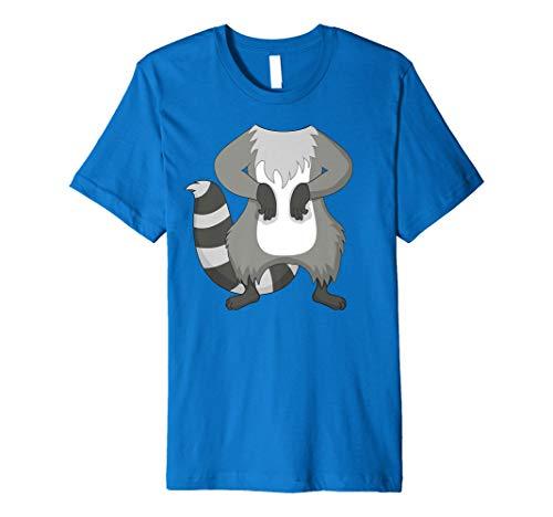 Waschbär Kostüm T-Shirt für Halloween Waschbär Tier -