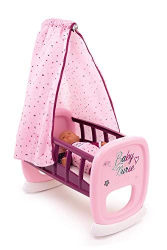 Smoby - 220338 - Baby Nurse - Bercelonnette - Lit pour Poupon - Drap Inclus