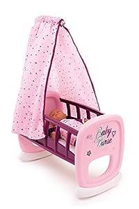 Smoby Baby Nurse 220338 - Cuna de bebé, Color Rosa