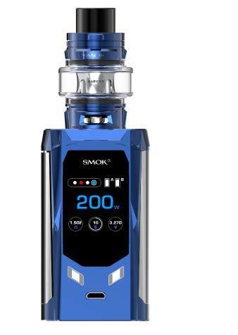Smok R-Kiss 200W Kit with TFV-Mini V2 Tank (Azul marino y prisma cromo)