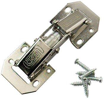 Bulk Hardware - Cerniere a molla con sistema Easy-On, confezione da (Cerniera Sistema)