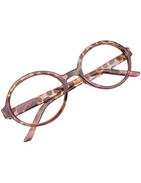 Cornice rotonda dei vetri del bambino - Infant Bambini Occhiali da vista Geek / Nerd Retro lettura Eyewear No...