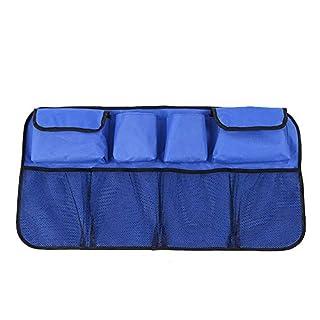 Carrrfan Kofferraum Organizer, Auto Organizer mit großen Netz-Taschen|Sitztasche|Rücksitz Organizer|Auto-Sitztasche|Auto Aufbewahrungstasche