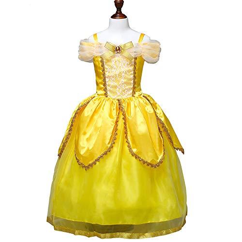 HHFF Kinder Kleid Kleid Schönheit & amp; Biest -