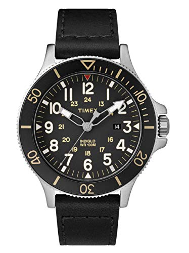 Timex Herren Analog Quartz Uhr Allied Coastline