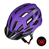 PHZING Bicycle Helmet CE Certified Adjustable Adult Helmet with Detachable Visor for Bicycle