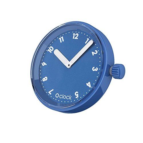 Fullspot O clock Cassa Numeri Blu Capri MEC.NSN - Orologio da polso Unisex ...