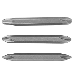 Bosch 2609255958 DIY Doppelklingenset 3-teilig 60 mm, Standard LS 0.6 x 4.5-Pz 1 (× 1), LS 0.8x5.5-Pz 2 (× 1), LS 1.2x6.5-Pz 3 (× 1)