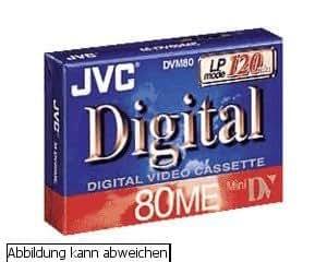 JVC Cassettes Mini DV 80 minutes