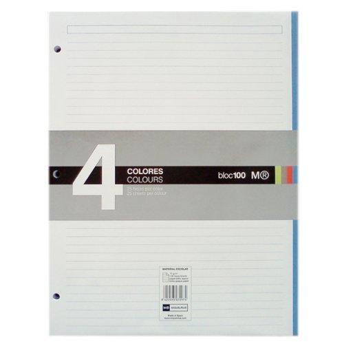 miquel-rius-100feuilles-carnet-de-215cm-x-28cm-avec-doublure-acrylique-multicolore-2pices