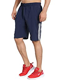 Trinity Jeans Company2.0 Mens Stripped Sports Polyester Shorts | Lounge Shorts for Men Casual Wear