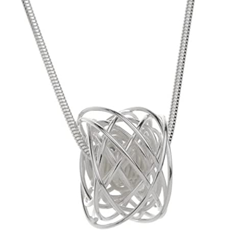 Handmade 925 Sterling Silver Wire Wrapped Pendant with Free Gift Packaging by Otis Jaxon