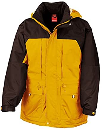 Result Multi function winter jacket - Yellow/Black - S