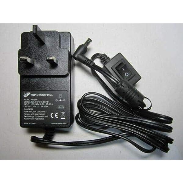 AC DC 12V Power Supply Adapter for Allen /& Heath-Xone AM6905 XONE22 3A-161WP12