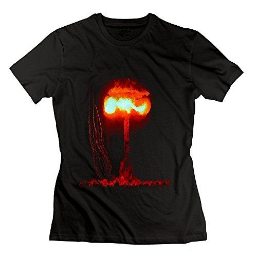 Atomic Bombs Mushroom Cloud Damen's T-Shirt schwarz Damens Small -