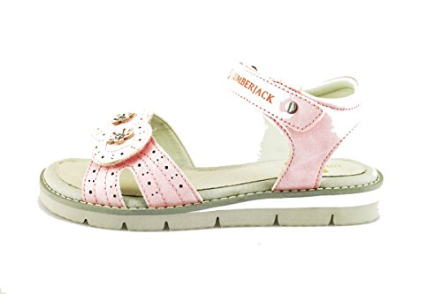 LUMBERJACK sandali bambina 34 EU rosa vernice AG371