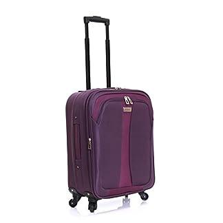Slimbridge Andalucía equipaje de mano extensible, Púrpura