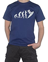 Evolution Surfer T-Shirt - Surfing / Surf Funny Tee - Ape to Man