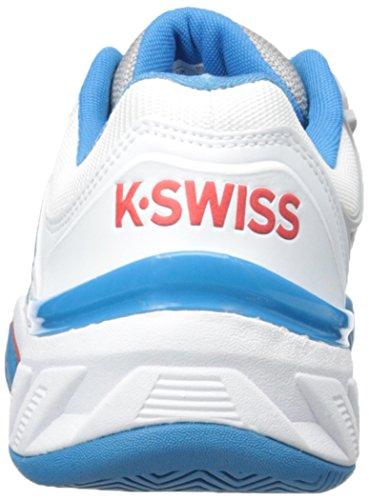 Tennis swiss Bigshot Uomo Scarpe K Per Le Da Bianco Blu Bianco EwqIUn