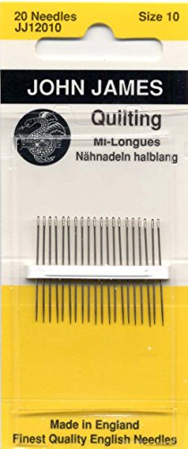 Colonial Needle Quilten/Patchwork, Hand Needles-Size 1020/Pkg