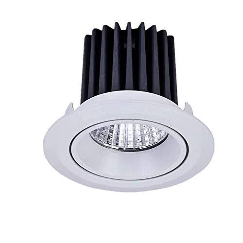 Wlnnes COB LED Downlight ahuecado, 5W 7W 10W CRI 80 Living nivel...