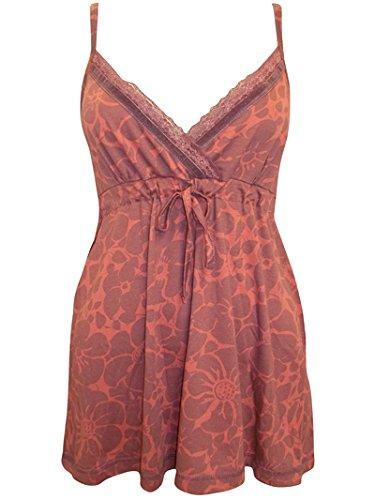 ex-store-da-donna-con-motivo-a-foglie-colore-marrone-ruggine-finitura-in-raso-di-cotone-con-pizzo-ma