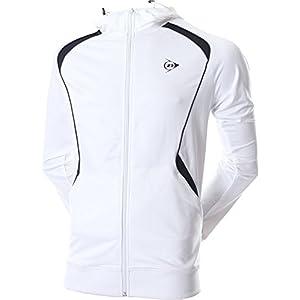 Dunlop Jungen Tennis Trainingsjacke weiß Gr. 128
