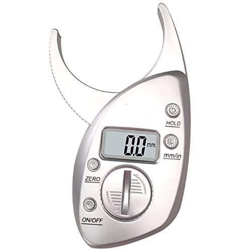Digitaler Körperfett-Messschieber, Hautfalten-Analysator Mit LCD-Bildschirm, Elektronisches Handmessgerät Für Körperfett Zur Messung Der Fettdicke